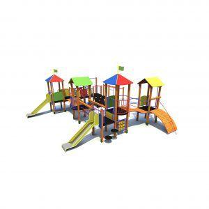 duży zestaw zabawowy dla dzieci