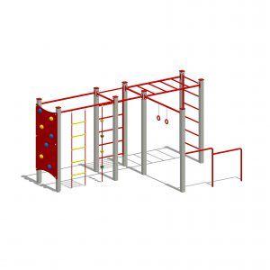 zestaw zabawowy active line na plac zabaw dla dzieci