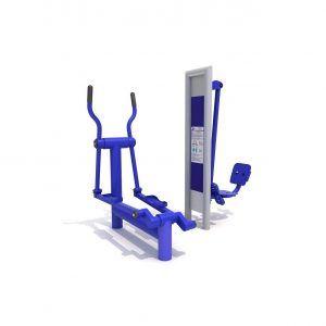 ORBITREK i PRASA NOŻNA urządzenia na siłownię na zewnątrz