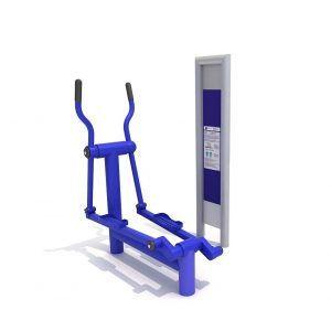 wyposażenie siłowni zewnętrznej
