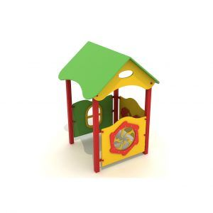 domek dla dzieci na plac zabaw