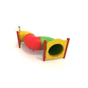 przejście tubowe wąż na plac zabaw dla dzieci