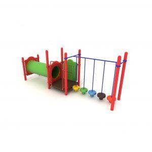 grzybki i przejście tubowe na plac zabaw