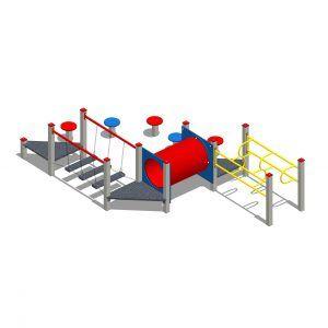 zestaw zabawowy labirynt z licznymi przejściami