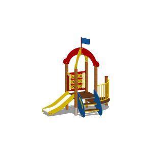 zestaw zabawowy z wieżą na plac zabaw dla dzieci