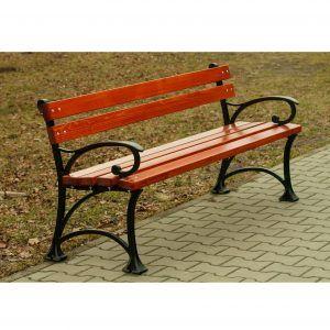 wytrzymała ławka parkowa