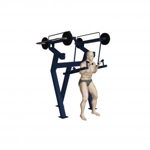 trenażer mięśni profesjonalna siłownia zewnętrzna active line outdoor fitness