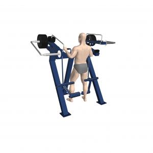 profesjonalny trenażer nóg profesjonalna siłownia zewnętrzna active line