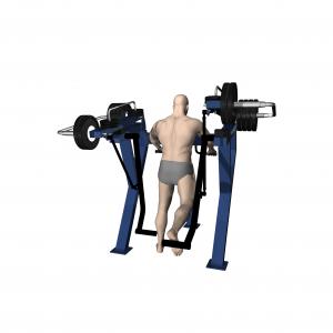 trenażer pośladków trening profesjonalna siłownia zewnętrzna active line