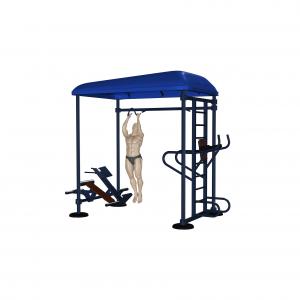 stacja street workout wizualizacja profesjonalna siłownia zewnętrzna active line