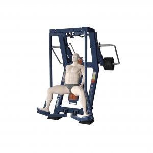 profesjonalne siłownie zewnętrzne active line wizualizacja trenażer mięśni ud