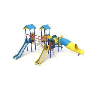 duży zestaw zabawowy na plac zabaw dla dzieci