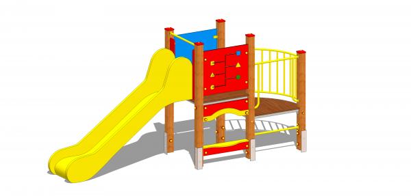 zestaw zabawowy wieża