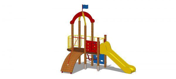 drewniany zestaw zabawowy