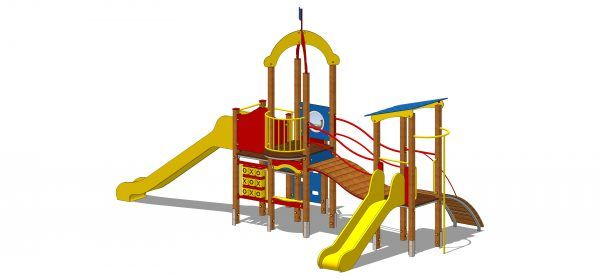 zestaw zabawowy dla dzieci na plac zabaw