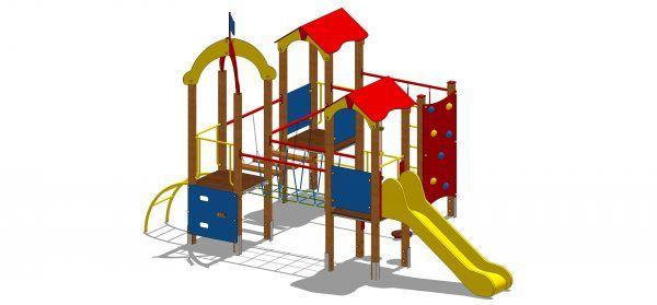 duzy zestaw zabawowy na plac zabaw