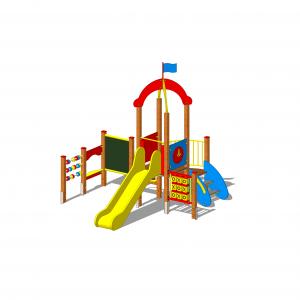 zestaw zabawowy z dla dzieci na plac zabaw