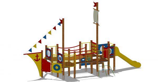 zestaw zabawowy statek dla dzieci w wieku 6-12lat