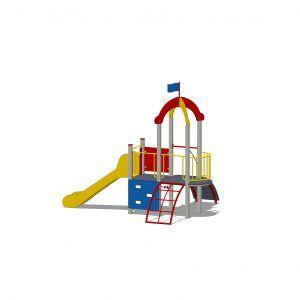 zestaw zabawowy z wieżą