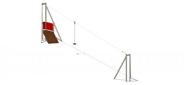 kolejka linowa dla dzieci