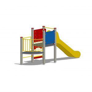 zestaw zabawowy z wieżą bez dachu