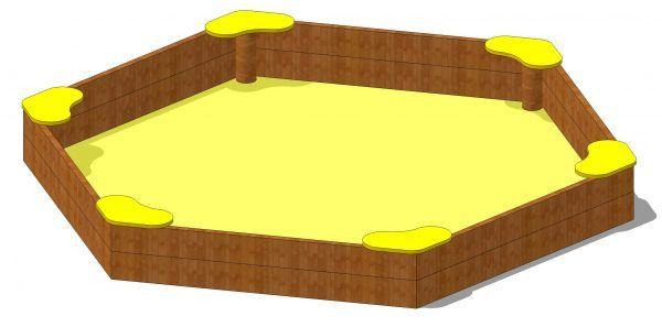 piaskownica kwadratowa