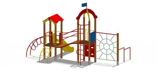 zestaw zabawowy z tworzywa HDPE
