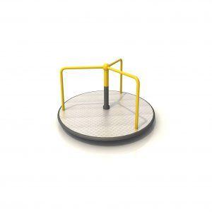 karuzela na plac zabaw dla dzieci