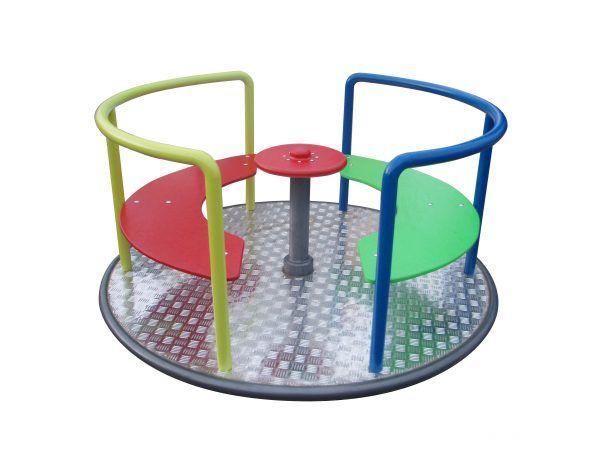 karuzela tarczowa na plac zabaw dla dzieci
