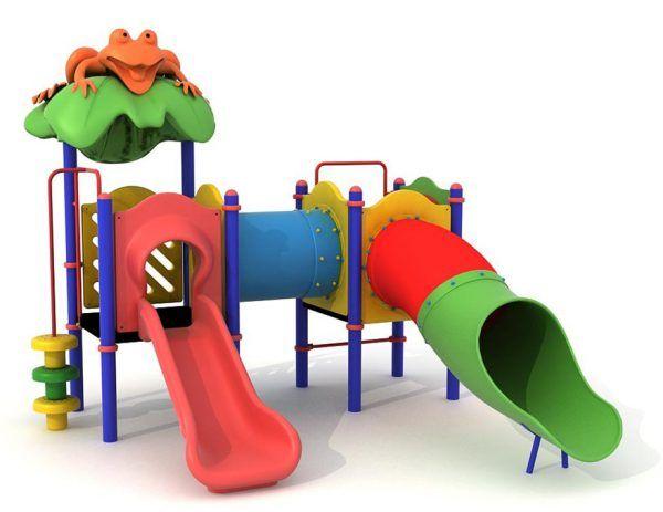 zestaw na plac zabaw dla dzieci