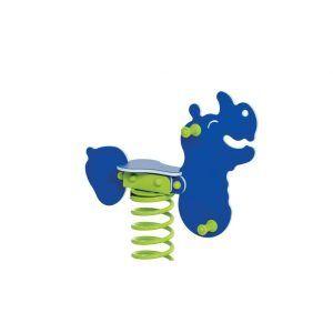 bujak nosorożec na plac zabaw