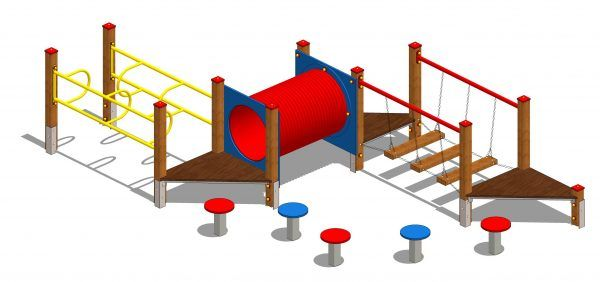 drewniany zestaw zabawowy labirynt