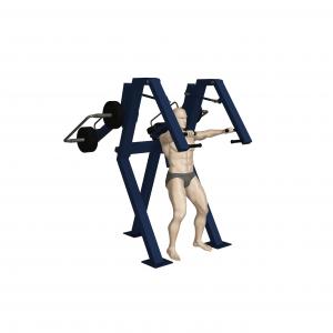 Wyciskanie na klatkę piersiową w pozycji stojącej (nr kat. 7.30)