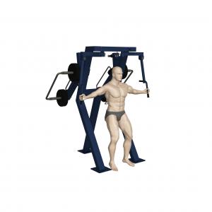 Trenażer mięśni klatki piersiowej (motyl) w pozycji stojącej (nr kat. 7.31)