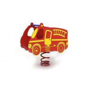 kiwak na sprężynie wóz strażacki