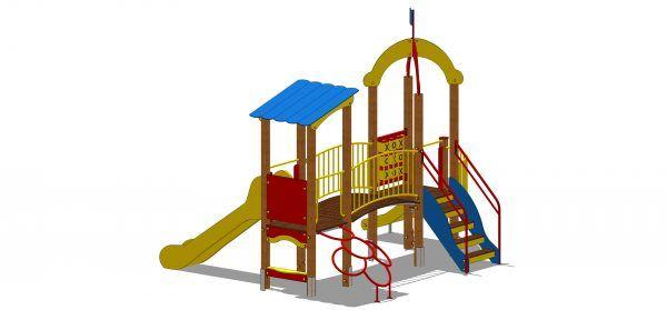 Zestaw zabawowy ze schodami