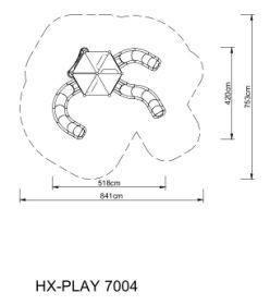 Zestaw zabawowy HEXO Play 7004