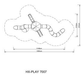 Zestaw zabawowy HEXO Play 7007