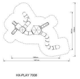 Zestaw zabawowy HEXO Play 7008
