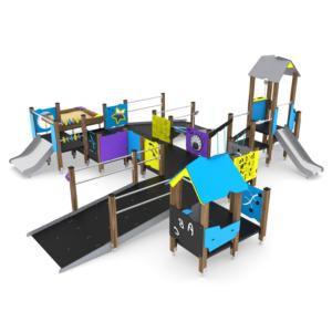 Place zabaw integracyjne / dla niepełnosprawnych